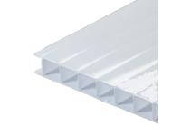 Поликарбонат сотовый молочный  6 мм 2100*12000 мм