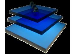 Поликарбонат монолитный синий 10мм 2050х3050мм