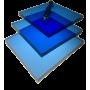Поликарбонат монолитный синий 6мм 2050х3050мм