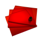 Поликарбонат монолитный красный 3мм 2050х3050мм