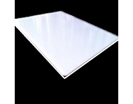 Полистирол ударопрочный белый HIPS, Gebau 2000x3000 мм, толщина 3 мм