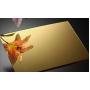 Полистирол зеркальный золото 1000x2000 мм, толщина 1 мм