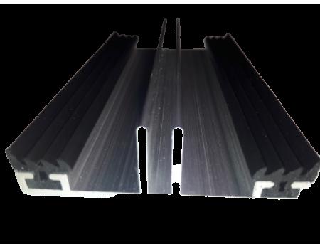 Алюминиевый профиль (низ) с резиной