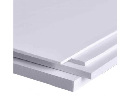 """Вспененный ПВХ 2мм белый 1560*3050мм """"RS-Foam"""" (0,55-0,65г/см3)"""