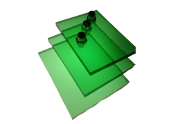 Поликарбонат монолитный зеленый 2мм 2050х3050мм