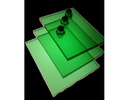Поликарбонат монолитный зеленый 5мм 2050х3050мм