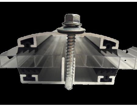 Алюминиевый соединительный профиль (комплект №2)