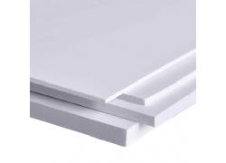 """Вспененный ПВХ 1мм белый 1560*3050мм """"RS-Foam"""" (0,55-0,65г/см3)"""