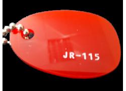 Акриловое стекло темно-красное JR-115 Moden Glas