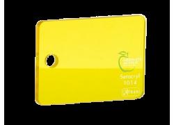 Акриловое стекло желтое прозрачное