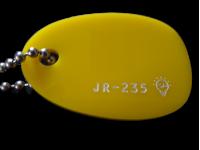Акриловое стекло желтое  JR-235 светорассеивающее Moden Glas
