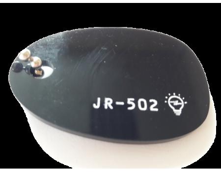 Акриловое стекло черное JR-502 светорассеивающее Moden Glas