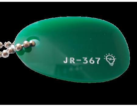 Акриловое стекло зеленое JR-367 светорассеивающее Moden Glas