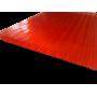 Поликарбонат сотовый красный 4мм 2100х6000 мм