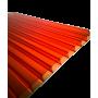 Поликарбонат сотовый красный 4мм 2100х12000 мм