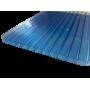 Поликарбонат сотовый синий 4мм 2100х12000 мм