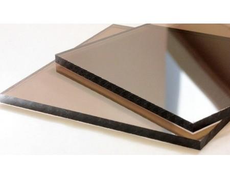 Поликарбонат монолитный бронзовый 3мм 2050*3050 мм