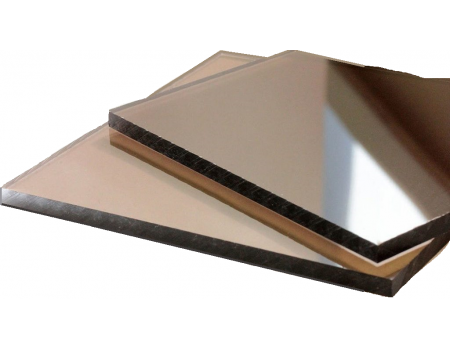 Поликарбонат монолитный бронзовый 4мм 1525*2050 мм