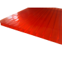 Поликарбонат сотовый красный 10мм 2100х6000 мм