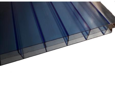 Поликарбонат сотовый синий 16мм 2100х6000 мм