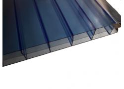 Поликарбонат сотовый синий 16мм 2100х12000 мм