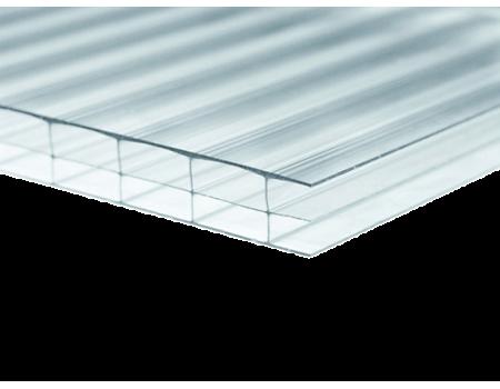 Поликарбонат сотовый прозрачный 16мм 2100х6000 мм