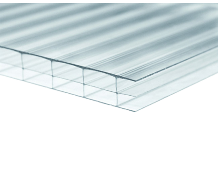 Поликарбонат сотовый прозрачный 16мм 2100х12000 мм