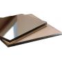 Поликарбонат монолитный бронзовый 10мм 1525*2050 мм