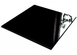 Акриловое стекло черное 3 мм 1525*2050 мм