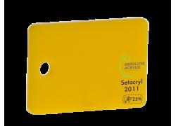 Акриловое стекло желтое 2011 светорассеивающее Setacryl