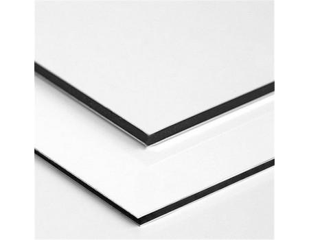 Алюминиевые композитные панели АКП Grossbond 3мм 1500*2000мм (al 0,21) Белый 9003