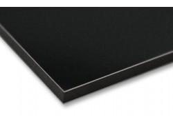 Алюминиевые композитные панели АКП Grossbond 3мм 1500*2000мм (al 0,21) Черный 9005