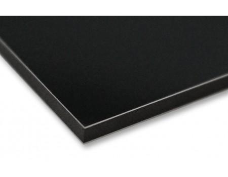 Алюминиевые композитные панели АКП Grossbond 3мм 1500*4000мм (al 0,21) Черный матовый G9005