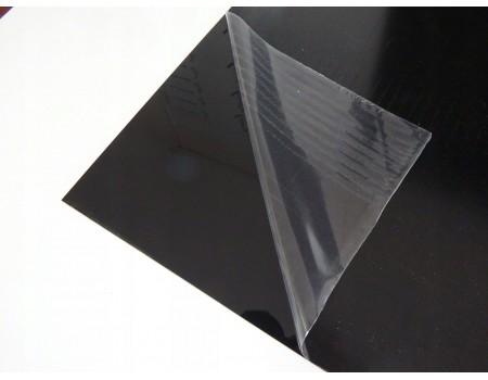 Полистирол 1000*1500мм 3мм Чёрный-глянец. Ударопрочный