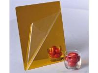 Акриловое зеркало 3мм 3050*2030мм Золото