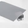 Монолитный поликарбонат 2мм 1525*2050 мм светорассеивающий (DIF) ОПАЛ 80%