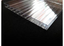 "Поликарбонат сотовый 6мм прозрачный 2.1*12м ""GROSS-PC"" (1300гр/м2) ГОСТ"