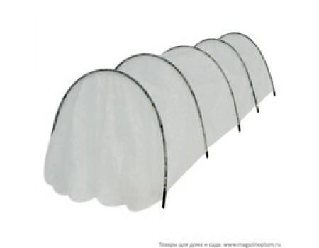 Парник с чехлом из спанбонда - 4,0м ширина - 1,3 м