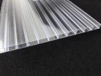 Поликарбонат сотовый прозрачный  4 мм