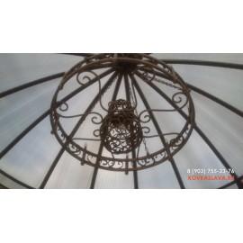 Купол из сотового поликарбоната (Ковкаслава.ру)